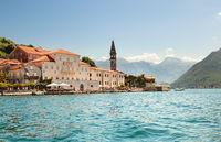 Perast, near Kotor. Montenegro