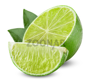 Lime with half