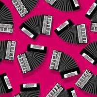 Accordion seamless pattern
