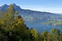 Lake Lucerne and Mount Pilatus, Switzerland