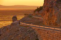 Kuestenstrasse Kroatien - coast road croatia 01