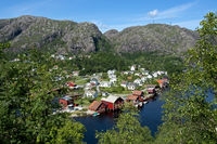 village of Ana-Sira, Flekkefjord, Norway