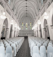Interior of Chijmes Hall in Downtown Singapore