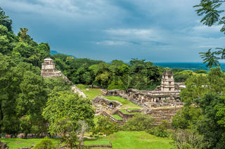 Ruins of Palenque, Mexico