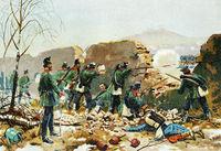 The Second Battle of Buzenval, Franco-Prussian War