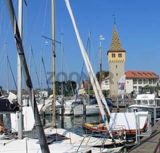 Turm am Hafen von Lindau