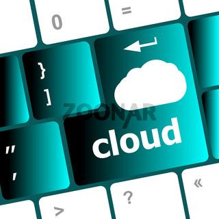 computer keyboard for cloud computing