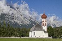 Village church in Leutasch