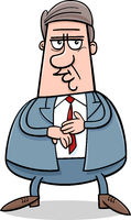businessman character cartoon illustration