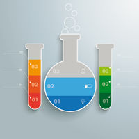 Test Tubes Infographic PiAd