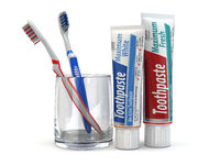 Dental protection, Toothpaste and toothbrushes.