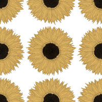 Sunflower pattern design