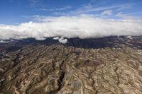 Luftaufnahme der Suedostkueste, Teneriffa
