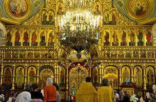 Ikonostas der Christi-Himmelfahrt-Kathedrale,Almat