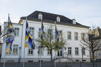 Building of the district council in Arnsberg, Germ