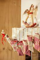 Bags of an advent calendar