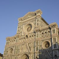 Facade of the dome of Florence