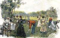 lawn tennis, 19th century