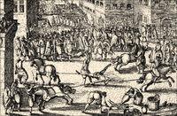 The execution of François Ravaillac