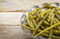 green (French) beans steamed