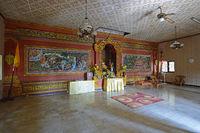 Gebetsraum des  buddhistischen Kloster Brahma Vihara, Banjar,