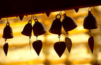 Heart bells at Buddhist temple