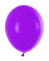 purple inflatable balloon