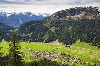 Nesselwaengle, Tannheimer Tal valley, Austria