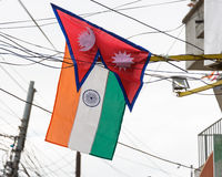 Prime Minister Narendra Modi arrives in Kathmandu