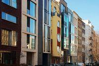 Modern Apartment Buildings Berlin Germany