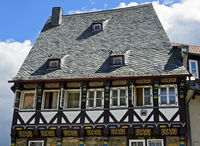 Half-timbered house from the year 1523, Goslar