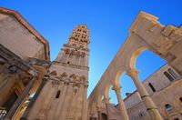Split Kathedrale - Split cathedral 01