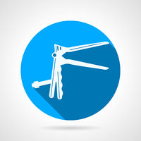 Circle icon for gynecology speculum