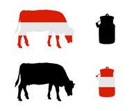 Oesterreichische Milchkuh - Austrian milk cow