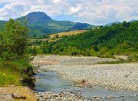 Trebbia Fluss - Trebbia river 01