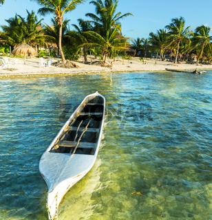 Boat in Mexico