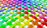 Regenbogen Farben Gitter 2