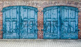 Rustic Heavy Wooden Doors