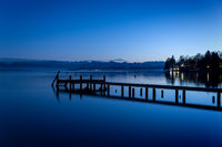 Starnberg Lake by night