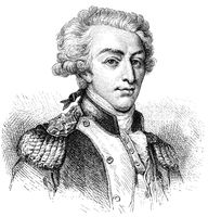 Marquis de La Fayette, 1757 - 1834, a French general and politician