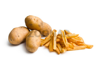 potatoes with french fries