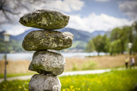 Balance with stones