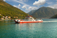 Boka Kotorska Bay. Montenegro.