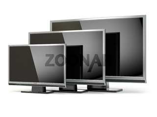 TV flat screen lcd or plasma. .Digital broadcasting television.