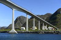 Remoy Bridge, Herøy, Møre og Romsdal county,Norway