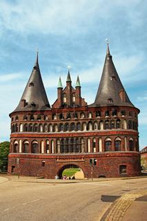 Holstentor Lübeck Deutschland