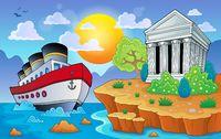 Greek theme image 9 - picture illustration.