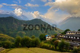 Ghandruk village in the Annapurna region