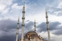 Muslim islam religion Tahtakale Camii mosque in Tu