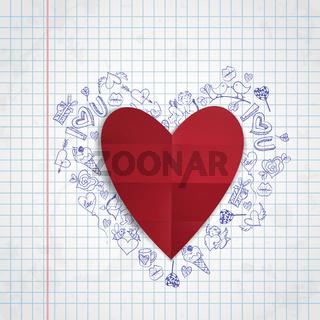 Valentines Day Symbol's.
